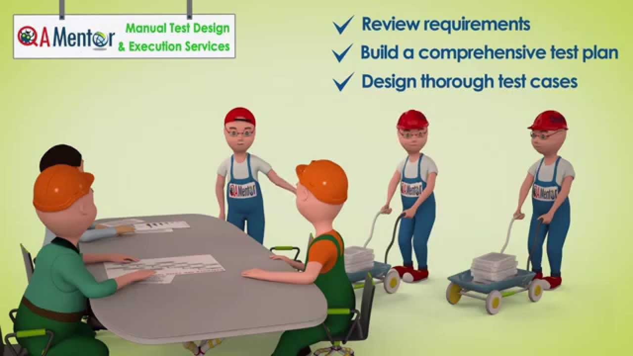 QA Mentor Manual Test Design and Execution Services - YouTube