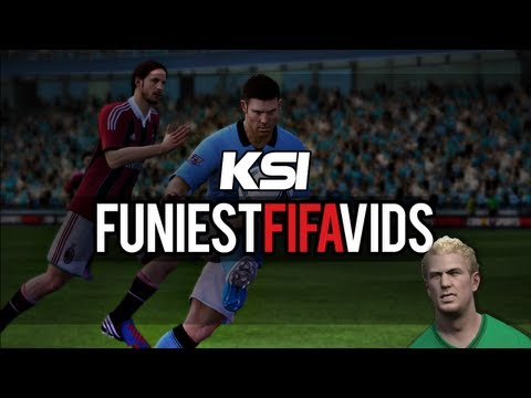 Best Of KSI - Fifa Funnies (KSI ARMY have to watch this!)
