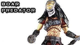 Hiya Toys BOAR PREDATOR 1:18 Scale Action Figure Review