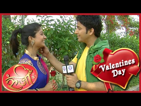 Rushi Proposes To Runji On Valentine's Day! - Star Pravah Serial - Runjhi video