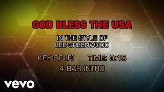 Lee Greenwood Godd Bless The U S A Karaoke