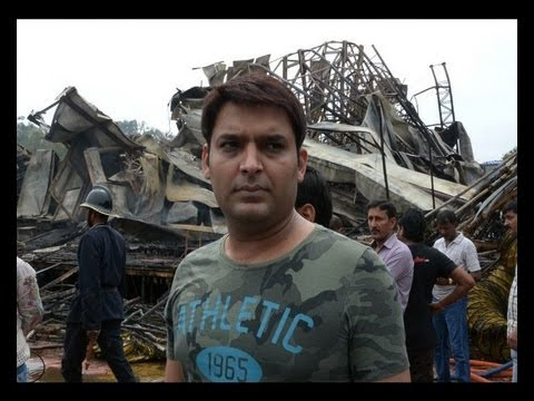 Comedy Nights With Kapil Set Fire on Sets of Comedy Nights