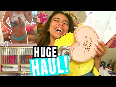 HUGE MAKEUP, CLOTHING, AND PO BOX HAUL!!