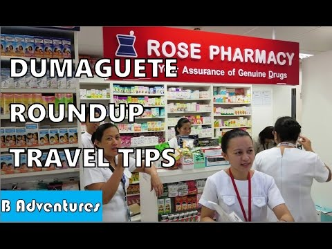 Philippines S2 Ep35: Dumaguete, Medication, Pedicab Trikes, Buses, Travel Tips, Roundup Pt2