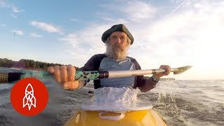 Traveling the World With a 71-Year Old Kayaker