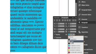 """Paragraph Shading"" con InDesign CC 2015"