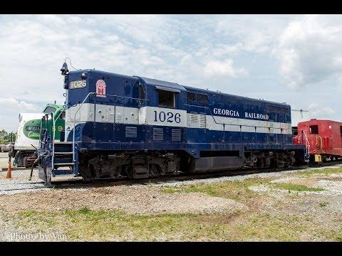 Southeastern Railway Museum's GA Railroad GP7