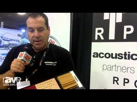 CEDIA 2015: Acoustic Smart Explains RPG Acoustic System, Acoustic Technology