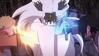 NARUTO  SASUKE VS MOMOSHIKIAMVBoruto Naruto Next G