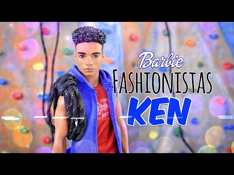 Unbox Daily:  Barbie Fashionistas - Hip Hoodie Ken - Doll Review - 4K