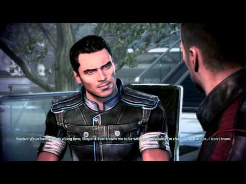 Mass Effect 3: Kaidan Gay Romance #15: Date with Kaidan in Restaurant -Someone to live for-