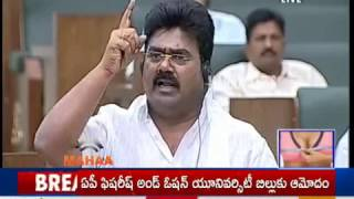 TDP MLA Kuna Ravi Kumar speech on Power Projects in AP Assembly