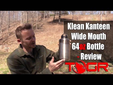 Klean Kanteen Wide Mouth 64oz Bottle - Review