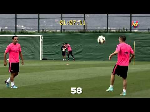 Skills Xavi, Iniesta & Sergio
