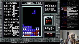 Jonas Neubauer commentates his own Tetris game