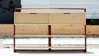 Designing and Building a Sideboard - Woodworking Projects