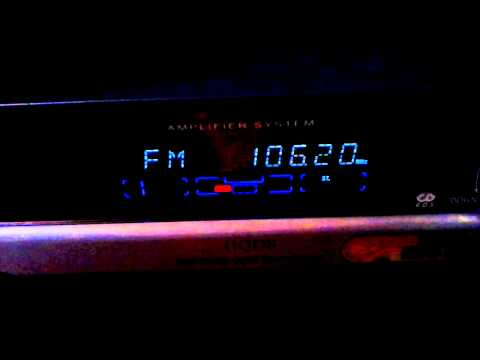 106,2 Virgin Radio Istanbul Çamlica via tropo 505km