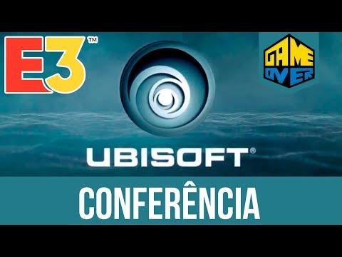 E3 2018. Ubisoft. Conferência. Ao Vivo no Game Over