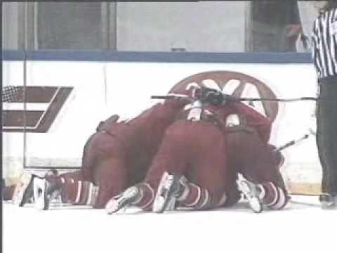 Amazing Ice Hockey game - Latvia-Belarus (5:4), 56min-2:4