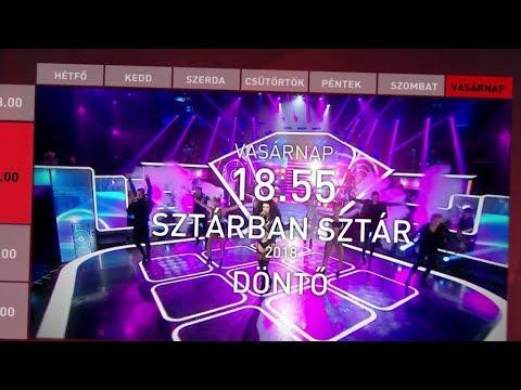 Sztárban Sztár - A Döntő: vasárnap 18.55
