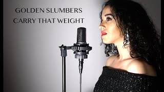 Golden Slumbers/ Carry that weight (Jennifer Hudson)- Cover Arianna Talè