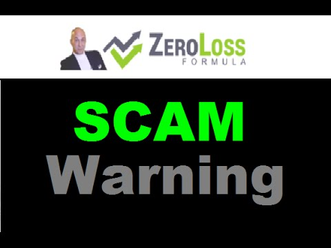 Zero Loss Formula Review - LOSING Trading SCAM Exposed!