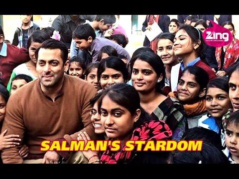 Watch Salman Khan's Phenomenal Fan Following!