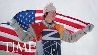 Olympic Gold Medalist Red Gerard Gets Real About Snowboard Training, Reveals His Biggest Fear  TIME