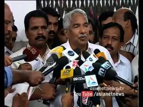 CM Oommen Chandy meets press after discussion | PC George removed as Chief Whip