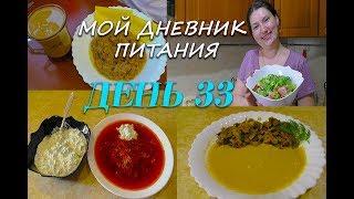Похудела на 31 кг Мой Дневник питания День 33 или Что же я ЕМ и Худею