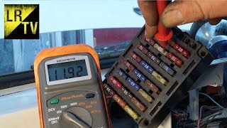 Land Rover Electrical fault finding  & diagnosis.  Starter circuit - relay