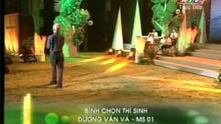 Tiếng hát mãi xanh 2012 – Đêm chung kết cuối – Dương Văn Vá – Thương về miền Trung