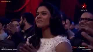 KAJOL Box Office Awards'14ᴴᴰ Parineeti Chopra's tribute to DDLJ #SRKAJOL
