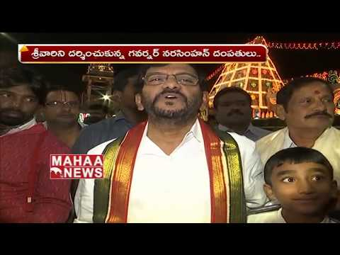 Telangana Political Leaders Visits Tirumala | Harish Rao | Narasimhan | Mahaa News