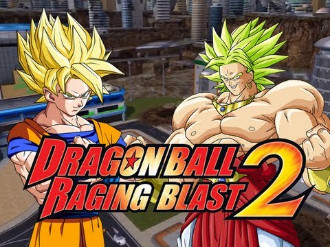 Dragonball Raging Blast 2: Ssj2 Goku Vs Broly (live Commentary) video