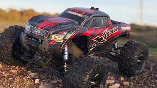 Traxxas X Maxx doing what it does best