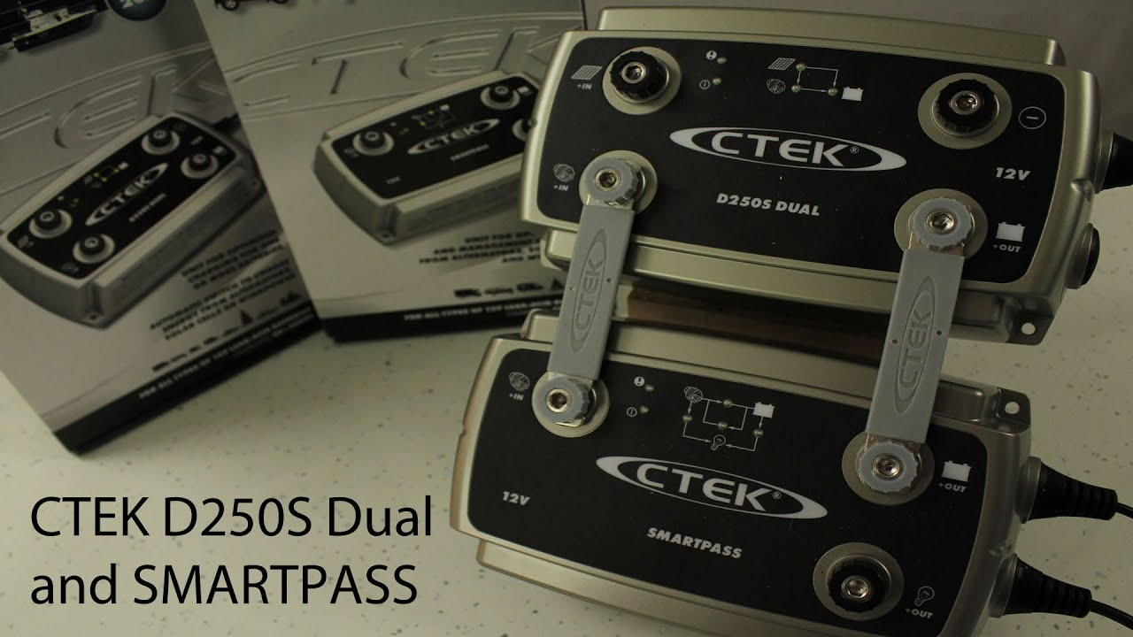 ctek d250s dual and smartpass review youtube
