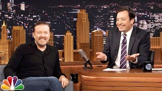 Random People, Random Questions with Ricky Gervais