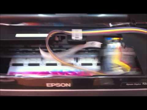 Impresora Epson Tx420w Sistema Tinta Epson Tx420w T22