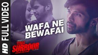 Wafa Ne Bewafai FULL VIDEO Song   TERAA SURROOR   Himesh Reshammiya, Farah Karimaee   T-Series