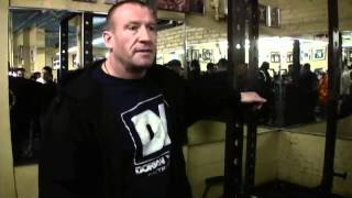 Dorian Yates: Back Exercises