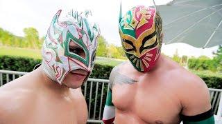 WWE Kalisto and Sin CaraLucha Dragons Hello HD