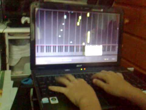 The Entertainer on piano(USINS SYNTHESIA{tTM} 純野静流 検索動画 8