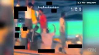 US Navy footage of Iranian rescue from pirates