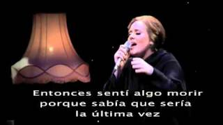Adele Video - Adele - Set fire to the rain (Subtitulada)