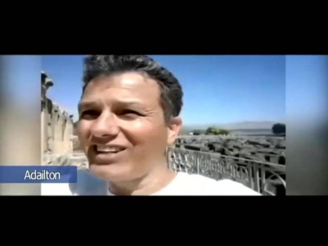 Adailton fala direto de Cafarnaum. Preparando a viagem com Caio 2017. Acesse www.viagemcomcaio.com