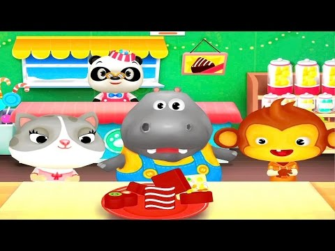 Конфетная фабрика Доктора Панды Развивающее видео для детей. Dr Panda Candy Factory
