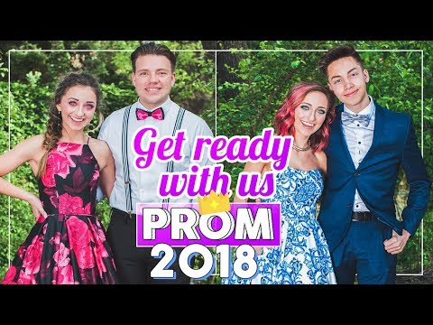 Six Days of SENIOR PROM 2018   #Prom Get Ready With Me
