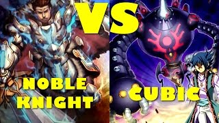 Real Life Yugioh - NOBLE KNIGHT vs CUBIC | February 2017 Scrub League