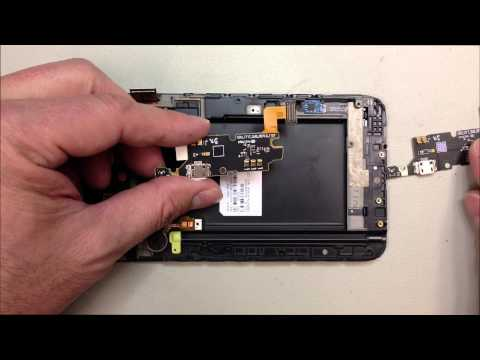 Samsung Galaxy Note i717 Charging Port Replacement